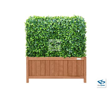 Artificial Ligustrum Ficus Hedge with 15