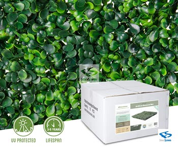 Light Green Boxwood Panels - Classic UV Rated
