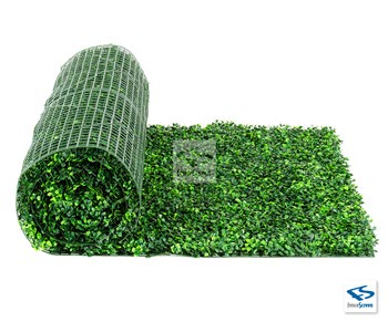 Light Green Artificial Boxwood Roll - Classic UV Rated