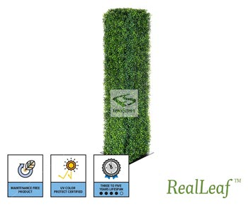 Faux Boxwood Pillar - NatraHedge® Freestanding