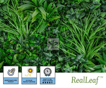 Faux Rainforest Living Wall Panels - NatraHedge® Living Wall