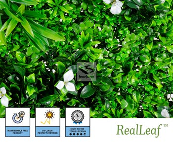 Artificial Maui Living Wall Panels - NatraHedge® Living Wall